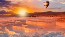 Pamukkale Hot Air Balloon Flights