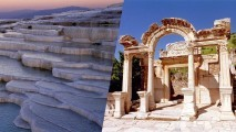 2 Days Ephesus & Pamukkale Tour By Plane