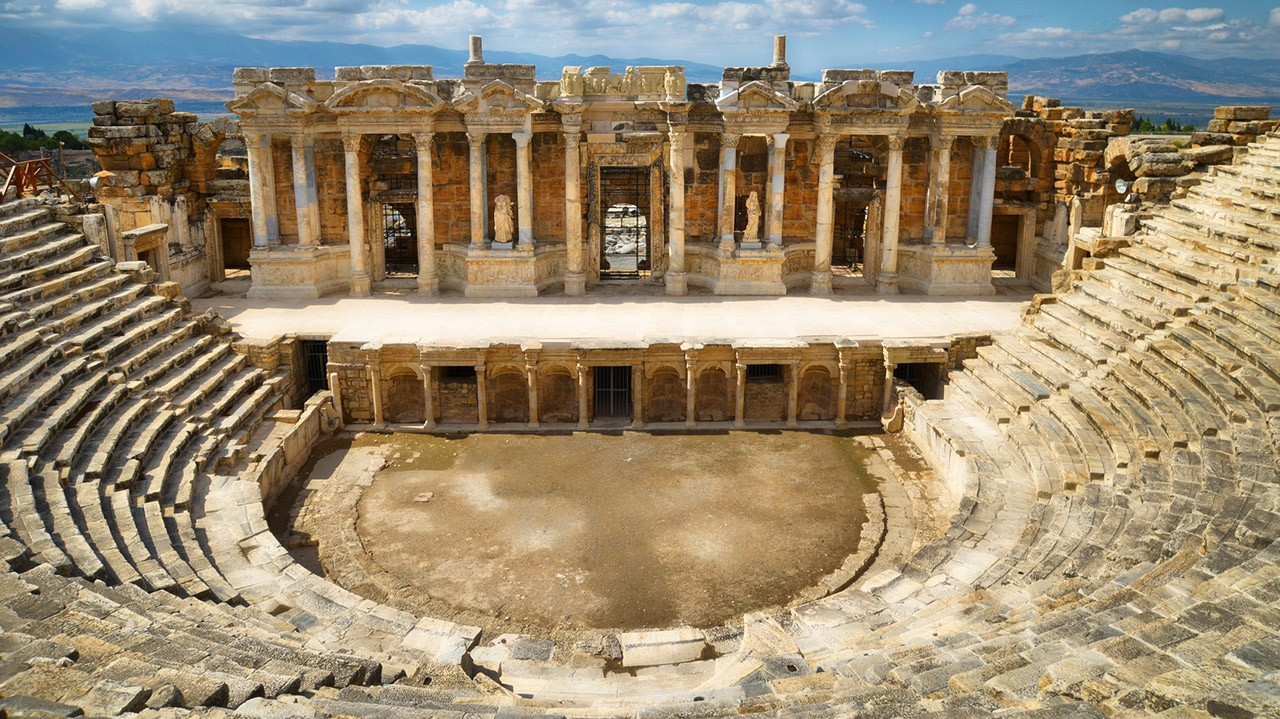 2 Days Ephesus Pamukkale Aphrodisias Tour By Bus ...