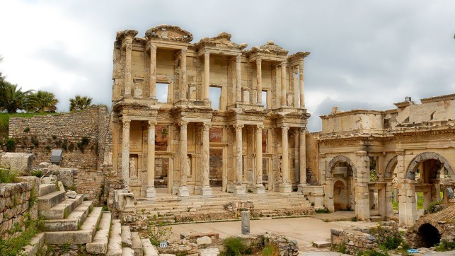Library Of Celsus In Ephesus